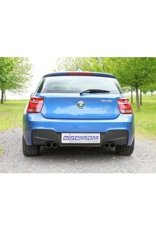 EISENMANN Sportauspuff BMW 1er F20 M135i - rechts links je 2 x 76mm