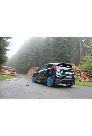 Fox Sportauspuff Racing Komplettanlage ab Kat Ford Fiesta VII ST 63,5mm - 129x106mm Typ 32