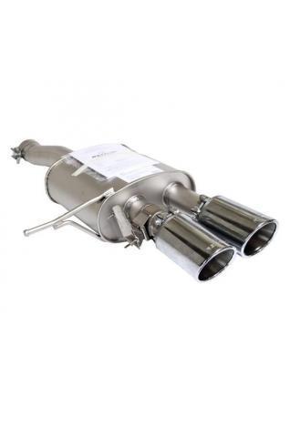 Remus Sportauspuff Endschalldämpfer für Mini Cooper S F56 ab Bj.14 Endrohre 2x102mm Chrom mit Sound Controller