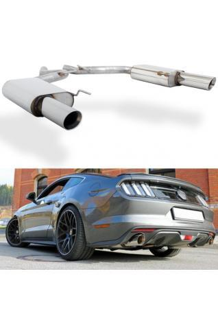 FOX Duplex Sportauspuff Ford Mustang Coupe & Cabrio rechts links je 1x100mm Typ 25