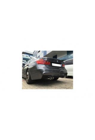 FOX Sportauspuff BMW F30/31 316d 318d 320d M-Paket re li je 2x80mm