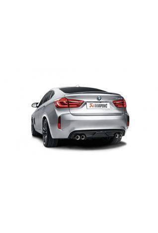 Akrapovic Sportauspuff Endschalldämpfer BMW X6 M F16 (F86) Evolution Line (Titanium) 2015