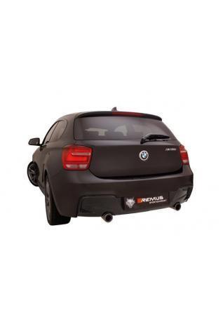 Remus Sportauspuff duplex Racing Komplettanlage ab Kat. BMW 1er F20/F21 M135i(x) Street Race Black Chrome