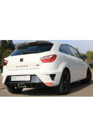 FOX Sportauspuff Komplettanlage ab Kat. Seat Ibiza 6J 6P 1.8 Cupra Facelift  1x55mm mittig