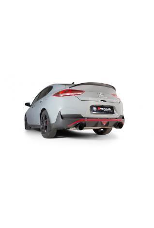 REMUS Duplex Klappen Sportschalldämpfer OPF Hyundai i30 Fastback N Typ PD je 1x102mm verchromt