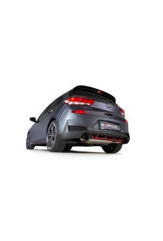 REMUS Duplex Klappen Sportschalldämpfer OPF Hyundai i30 Fastback N Typ PD je 1x115mm verchromt