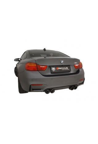 Remus Duplex Komplettanlage für BMW M4 F82 ab Bj.14 Endrohre je 2x102mm Carbon