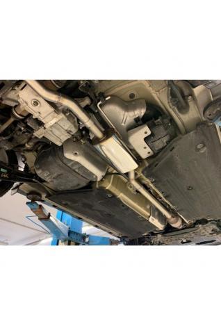 FOX Sportauspuff Vorschalldämpfer Hyundai Kona 1.6l 4WD