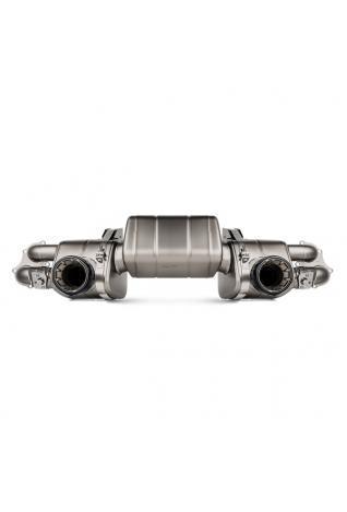 Akrapovic Titan Race Sportauspuff Endschalldämpfer Porsche 718 Cayman GTS / BOXSTER GTS 4.0 ohne Endrohre
