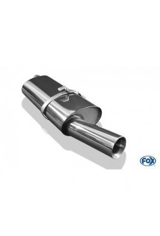 FOX Komplettanlage ab Kat. Opel Vectra A Stufenheck 1.6l-2.0l 1.7lD 1x80mm