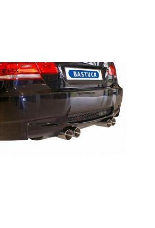 BASTUCK Sportauspuff quer BMW M3 E92 Coupe 4.0l rechts links je 2 x 85mm RACE Look (AnschlussØ 70mm)