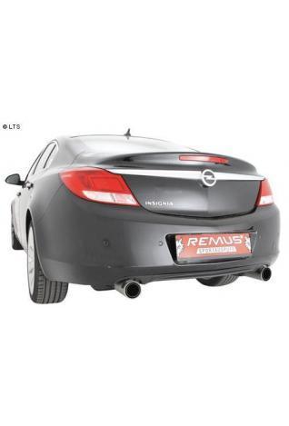 REMUS Duplex Sportauspuff je 1 x 98mm Street Race Opel Insignia Limousine Typ 0G-A 2.0l CDTI u. Fließheck 2.0l Turbo (inkl. Zubehör)