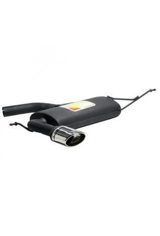 Ulter Sportauspuff 1 x 120x80mm eingerollt  - Seat Altea ab 04 1,4l bis 2.0 FSI und 1.9 TDI is 2.0 TDI