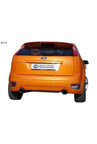 FOX RACING Komplettanlage ab Kat. Ford Focus 2 ST ab Bj. 04 2.5l - rechts - links je 100 mm eingerollt