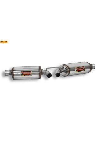 Supersprint Sportauspuff Duplex-Endschalldämpfer ohne Endrohre - Porsche Cayman 2.7 u. 2.9 und Cayman S 3.4i und R 3.4i ab Bj. 11