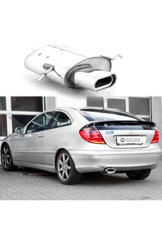 HJS Halter Abgasanlage   für Mercedes-Benz C-Klasse C-Klasse T-Model CLK