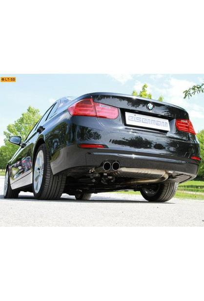 EISENMANN Sportauspuff BMW 3er F30 Limousine F31 Touring 328i 2 x 76mm