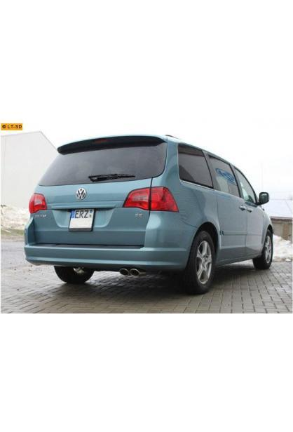 FOX Sportauspuff VW Routan 3.8l - 2 x 106x71mm oval (RohrØ 63.5mm)