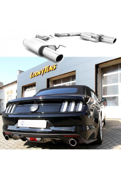 FOX Duplex Sportauspuff Ford Mustang Coupe & Cabrio rechts links je 1x100mm Typ 16