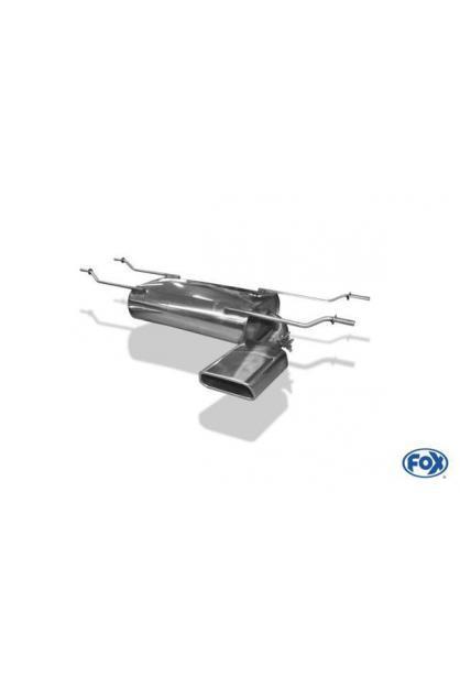 FOX Sportauspuff Endschalldämpfer für Mazda MX5 ND rechts 1x145x65mm
