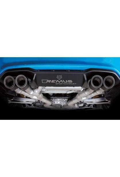Remus Komplettanlage ab Kat. BMW M2 Coupe F87 links/rechts je je 2x98mm schwarz und Carbon  mit integrierten Klappen