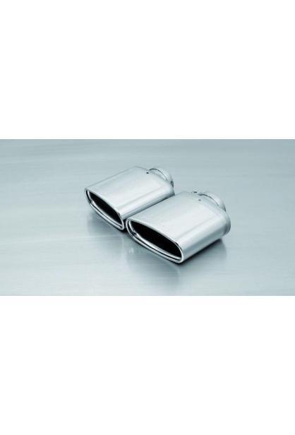 REMUS Duplex Turbo-Back Anlage je 142x72mm Sportauspuff Seat Leon Cupra ST 5F 2.0 ab Bj. 2013