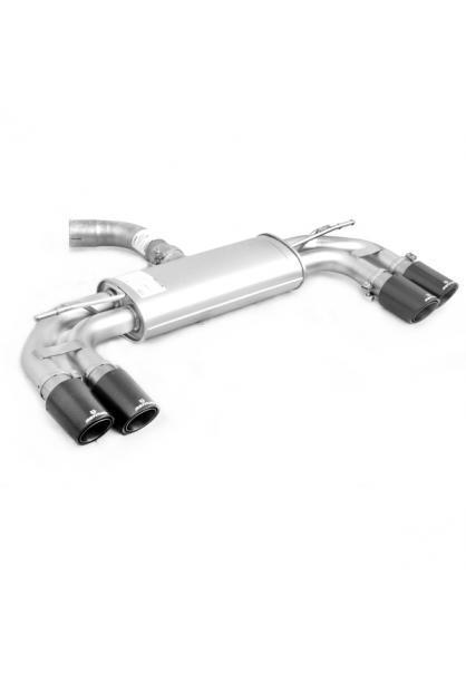 REMUS Duplex Sportauspuff Seat Leon 5F + SC rechts links je 2 x 84mm Carbon