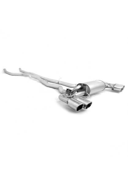 Remus Duplex Racing Komplettanlage ab Kat. BMW 5er M550i xDrive G30 re/li je 2x102mm verchromt