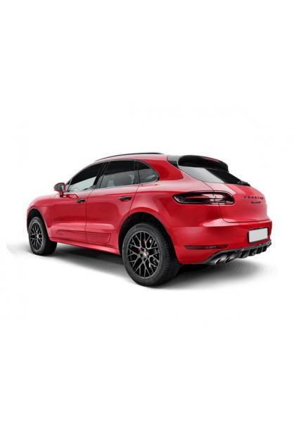 Akrapovic Evolution Line Titan Sportauspuffanlage mit Klappen Porsche Macan Turbo und GTS