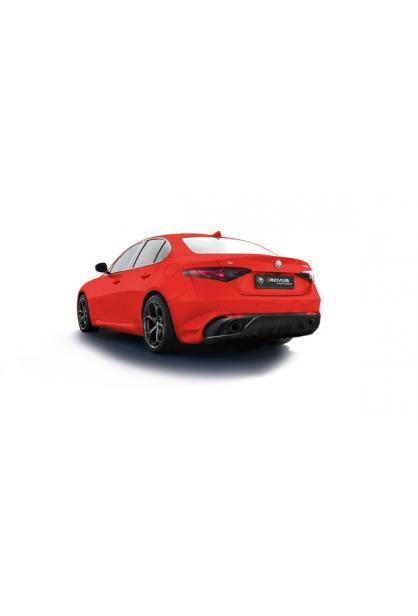 Remus Duplex Sportauspuff Racing Anlage ab Kat. für Alfa Romeo Giulia Veloce Typ 952 re/li je 1 Carbon ER Ø102mm