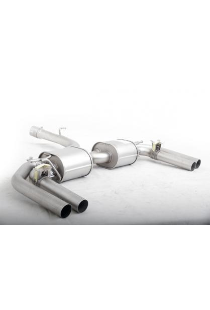 Remus Duplex Sportauspuff Endschalldämpfer mit 2 integrierten Klappen Audi RS3 Typ 8V 2.5l Turbo quattro