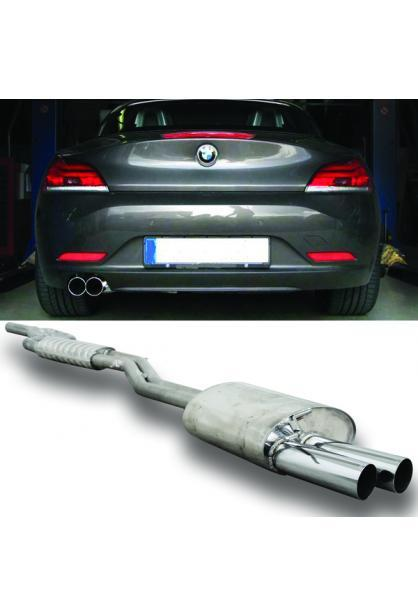 EISENMANN Komplettanlage ab Kat. BMW E89 Z4 20i 28i sDrive links 2x76mm