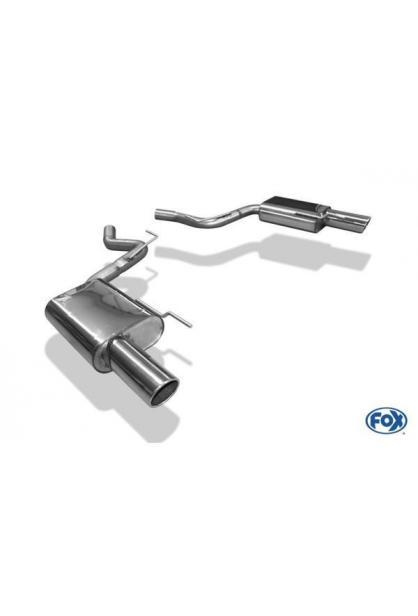 FOX Duplex Racinganlage ab Kat. Ford Mustang Coupe & Cabrio rechts links je 1x100mm Typ 16