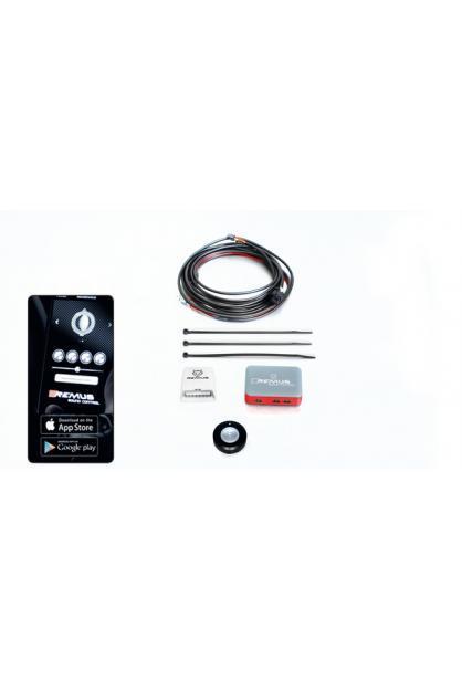 Remus Sound Controller bestehend aus elektronischer Steuereinheit inkl. Funkfernbedienung