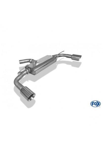 FOX Duplex Komplettanlage ab Kat. VW Beetle (5C) Coupe & Cabrio Einzelradaufhängung je 1x100mm