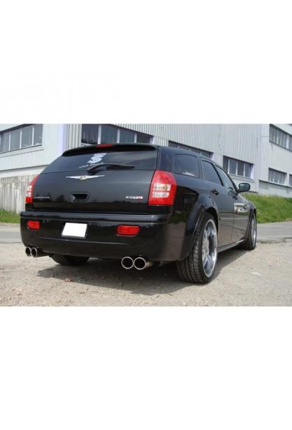 FOX Duplex Racinganlage ab Kat. Chrysler 300C SRT8 rechts links je 2x100mm Typ 17
