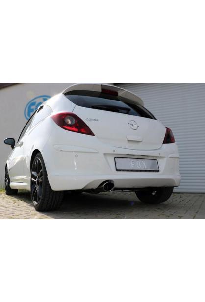FOX Komplettanlage ab Kat. Opel Corsa D Sportheck und OPC Line 115x85mm Typ 32