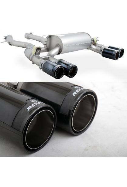 REMUS Duplex Klappen Racinganlage ab Kat. BMW M2 Competition re/li je 2x98mm Street Race Black Chrome