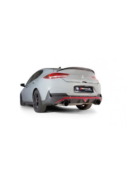 REMUS Duplex Klappen Racinganlage ab Kat. OPF Hyundai i30 Fastback N Typ PD je 1x102mm schräg