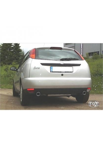 FOX Duplex Komplettanlage ab Kat. Ford Focus I Fließheck DAW/DBW 1.8l rechts links je 1x90mm