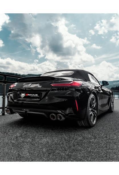 Remus Duplex Klappen Sportauspuff BMW Z4 M40i Roadster 3.0l Turbo 2x115mm verchromt