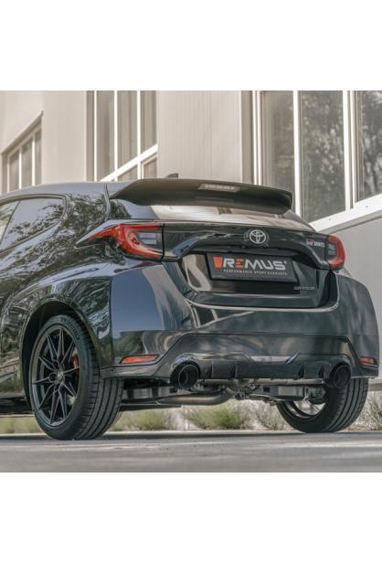 REMUS Racinganlage ab OPF Toyota Yaris GR 4WD Typ XPA1G links rechts je 1x115mm black