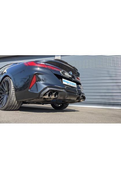 EISENMANN Klappen Sportauspuff BMW 8er Cabrio Coupe M Competition XDrive je 2x100mm