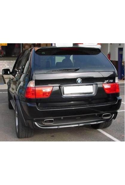 EISENMANN Sportauspuff Duplex Endschalldämpfer BMW E70 3.0sd - rechts links je 120x77mm rundoval abgeschrägt eingerollt in hartverchromter Ausführung