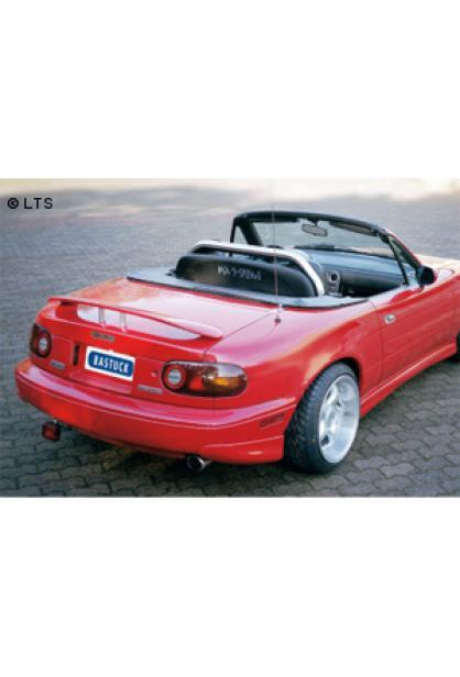 Mazda MX5 Typ NA (spätes Modell) 1.6l  1.8l  BASTUCK Komplettanlage ab Kat. rechts links je 1 x 90mm (AnschlussØ 57mm)