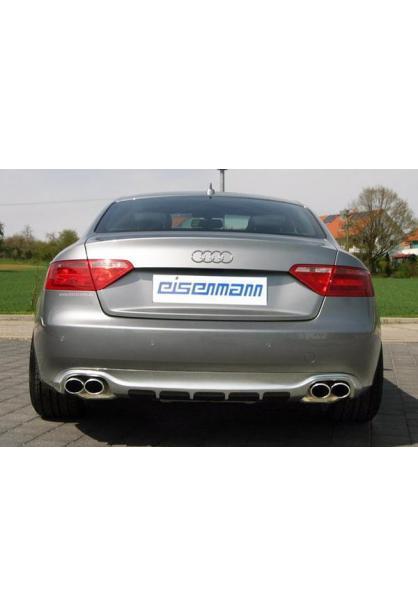 EISENMANN Sportauspuff Duplex Audi A5 3.2l TFSI + A4 B8 3.2l FSI re/li je 2 x 90x70mm RACE-Version
