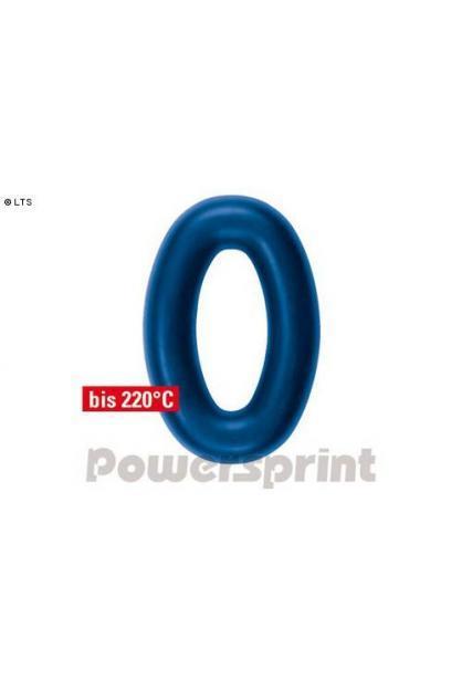 Powersprint Auspuffgummi aus Hochleistungs-Silikon - oval AußenØ 62 x 92 mm