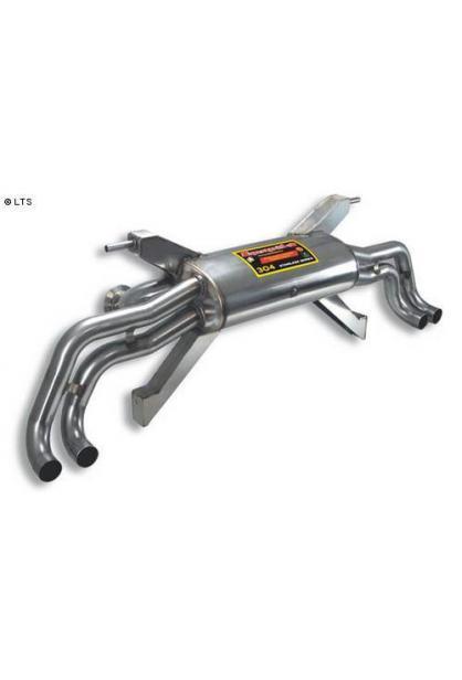 Supersprint Endschalldämpfer rechts links ohne Endrohre (Verwendung Original-Endrohre) - Audi R8 5.2i V10 ab 09