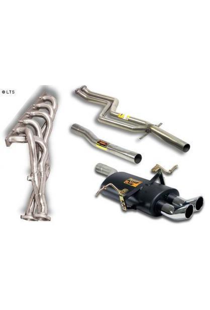 Supersprint Komplettanlage RACE Version 2x 70 mm DTM - BMW E46 320i-325i-330i (Limousine und Touring) und 320Ci-325Ci-330Ci (Coupe und Cabrio) ab 01 und BMW E46 325ti Compact ab 01