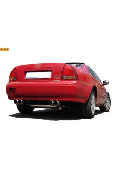 FOX Sportauspuff Honda Prelude 4 Typ BB2  BB3 Bj. 92-96 2.0l  2.3l - rechts links je 2 x 90mm Racing Look